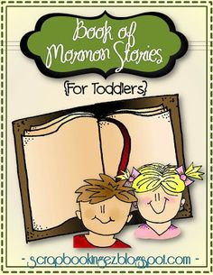 """""""SO excited - Finally something fun to teach the little ones with. Book of Mormon Stories for Toddlers with interactive simplified picture stories, quizzes, printables, and Bingo cards. My 2 year old could tell the story herself after using this format. Book Of Mormon Stories, Fhe Lessons, Primary Lessons, Church Activities, Sunday Activities, Lds Church, Church Ideas, Family Home Evening, Church Nursery"""