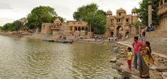 Evening at Gadisar Lake, Jaisalmer