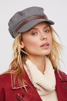 Shop our Riley Stripe Lieutenant Hat at FreePeople.com. Share style pics with FP Me, and read & post reviews. Free shipping worldwide - see site for details.