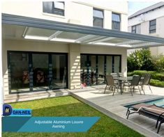 Increase your outdoor living area by adding an Adjustable Aluminium Louvre Awnings Decor, Aluminium, Living Area, Outdoor Decor, Home Decor, Outdoor Living Areas, Areas