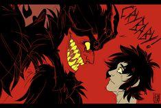 OVA Amon meets Crybaby Akira, by satogacrank