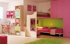 Cool Girls Bedroom Color Scheme