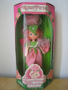 Rose Petal Doll, oh they smelled so good :)