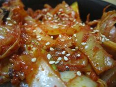 5. Stir-fried Kimchi and Veggies