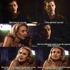 """#TheOriginals 2x04 - """"Live and Let Die"""" - Klaus and Cami"""