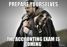Intermediate Accounting Classes. All of them.