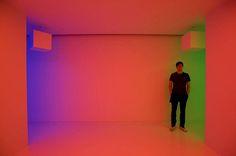 Carlos Crus-Diez: Chromosaturation  Roam through colour with the Interactive installation by Carlos Cruz Diez