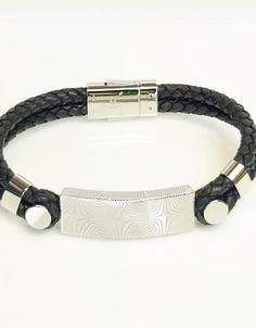 Theodore Designs Melbourne | Jewellery & Cufflinks | Men & Women Black Leather Bracelet, Damascus Steel, Special Events, Black Silver, Melbourne, Shopping Bag, Cufflinks, Pairs, Jewellery