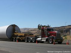 Lefebvre & Sons Kenworth W900 with Oversize Load, Truck 361