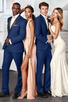 Tuxedo Available at Ella Park Bridal | Newburgh, IN | 812.853.1800 | IKE Behar - Ultra Slim Cobalt Blue Tribeca