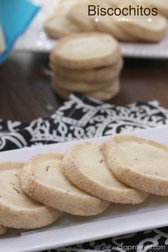 Biscochitos are a crunchy shortbread-like cross between a sugar cookie and a snickerdoodle! I'm so excited to share this delicious recipe with you that originates in my home state of New Mexico! Check out all our United States of Cookies recipes here. Recipe courtesy of Christine from I Dig Pinterest.