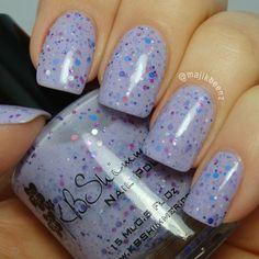 "Nails - KB Shimmer ""Iris My Case"" --- Instagram @majikbeenz"