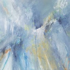 Abstract landscape by Tara Leaver