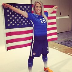 Julie Johnston - Rising star of the USWNT