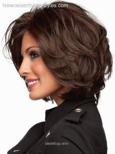 nice medium length hairstyles for women over 50 – Google Search……
