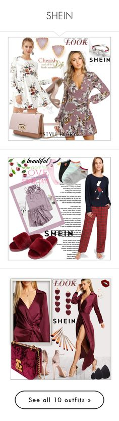 """""""SHEIN"""" by sabahetasaric ❤ liked on Polyvore featuring Grace, WALL, Oris, Yves Saint Laurent and Victoria Beckham"""