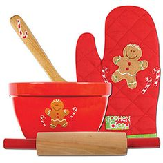 Christmas Cook Set Gingerbread