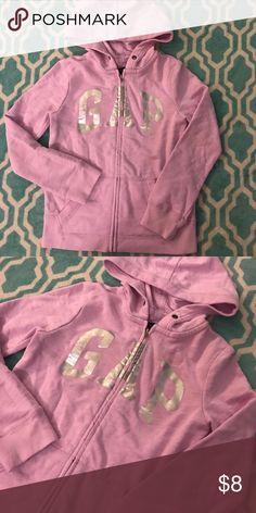 Gap Kids Light Purple Hoodie Sweatshirt 8 Gap Kids size 8 Light Purple and silver zip Hoodie  Will bundle for multi items! GAP Shirts & Tops Sweatshirts & Hoodies
