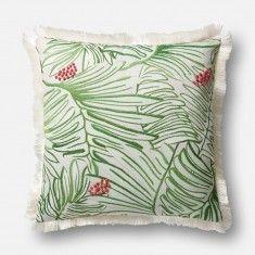 Loloi Justina Blakeney Pillow - Green/Multi