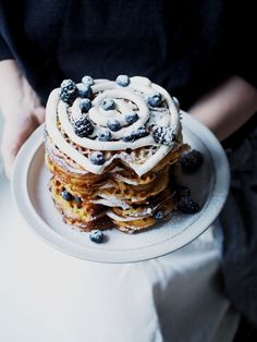 Voi veli mikä vohveli! – Hanna G Pancakes, Breakfast, Food, Candle, Morning Coffee, Essen, Pancake, Meals, Yemek