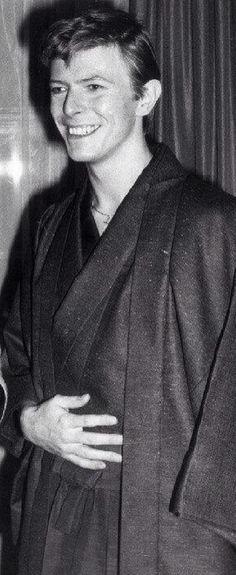 David Bowie 着物(kimono)