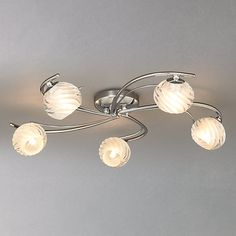 Buy John Lewis Hugo Semi-flush Light, Antique Brass, 5 Light from our Ceiling Lighting range at John Lewis. Free Delivery on orders over Semi Flush Lighting, Lighting Online, John Lewis, Antique Brass, Pearl Earrings, Hair Accessories, Ceiling Lights, Antiques