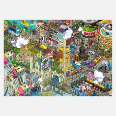 London Poster, £17, now featured on Fab.
