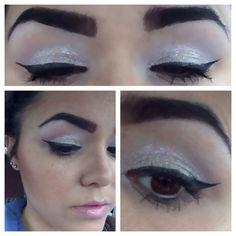 Eyeshadow Simple Silver