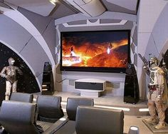 Star Wars house. Homes inspired by Movies