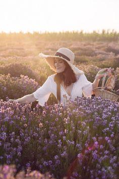 Lavander, Lavender Fields, Lavendar Painting, Fields Of Gold, Cinderella Disney, The Dreamers, Beautiful Flowers, Boho Fashion, Vintage Outfits
