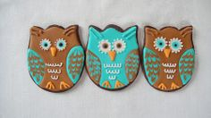 Owls made with a Tulip Cookie Cutter | Flickr - Photo Sharing!
