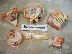 Songbird Scrapbook Embellishments Paper by mydivineinspiration, $4.89