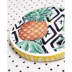 P I N E A P P L E | Spice your home up with some @ahoytrader fun | Shop www.daisychainstore.com.au Daisy Chain, Spice, Clever, Friends, Unique, Artist, Shop, Handmade, Amigos