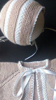 Ein Uhr Babykleidung, Häkeln und Stoff