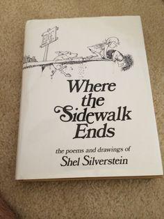 WHERE THE SIDEWALK ENDS [9780060291693] - SHEL SILVERSTEIN (HARDCOVER) NEW