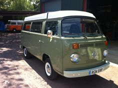 Our VW Late Bay Camper called Charlie