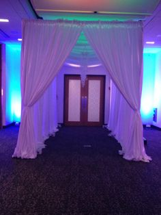 Need a grand entrance anyone?! Check this out! #grandentrance #partyideas #canopy #aloftevents @Aloft Mount Laurel