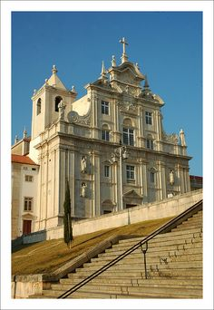 Day 33: Sé Nova, Coimbra - Another quite beautiful cathedral. Ceiling a bit like the Pantheon in Rome.