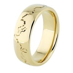 Coast Ring - 18ct Yellow Gold - 6.0mm wide