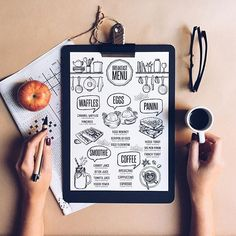 Love this menu design? You can find perfect food menu for your restaurant. They are just a click away! Browse all designs in my shop. Link in the bio. Cafe Menu Design, Food Menu Design, Restaurant Menu Design, Breakfast Menu, Brunch Menu, Food Menu Template, Menu Templates, Printable Menu, Speisenkarten Designs