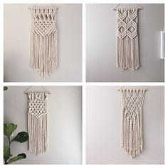 Macrame Kit/Macrame Wall Hanging Kit/DIY Gift/KIT by ReformFibers