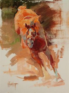 """Daily Paintworks - """"Sketch #10"""" by Abigail Gutting"""