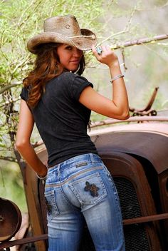 COWGIRL TUFF BLESSED JEANS