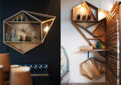 From a spatial perspective, the design work for Little Nuffield Cafe by Material Creative is absolutely stunning! Retail Interior, Cafe Interior, Interior Design, Rack Design, Store Design, Cafe Concept, Ideas Prácticas, Shop Ideas, Window Display Design