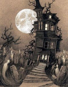 Halloween, Autumn, and all things creepy and macabre. Photo Halloween, Halloween Vintage, Halloween Pictures, Halloween Art, Happy Halloween, Halloween Witches, Halloween Decorations, Halloween Humor, Halloween Tattoo