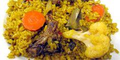 Casa Pepe Sanchis Paella de costillas con coliflor