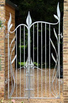 Art Nouveau Metal Work | G12: Contemporary Art Nouveau Metal Gates