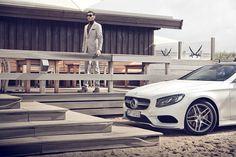 Mercedes Benz Hugo Boss Fashion s class AMG Coupé Easton Chang