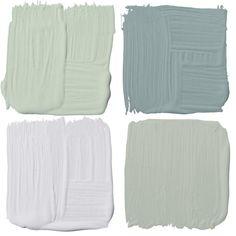 The best paint colours for each room in your house - Canadian Living Paint Color Palettes, Colour Pallette, Colour Schemes, Color Palate, Exterior Gris, Exterior Paint, Room Colors, Wall Colors, Best Paint Colors