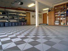 The Best Garage Floor Finishing Options: Garage Floor Coverings